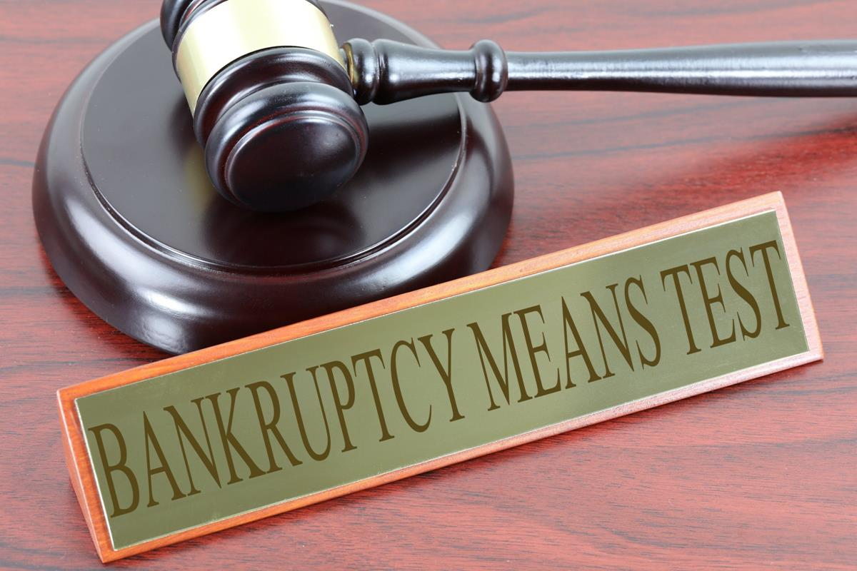 The Bankruptcy Means Test: Why People File for Bankruptcy